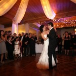 Bride & groom first dance photo