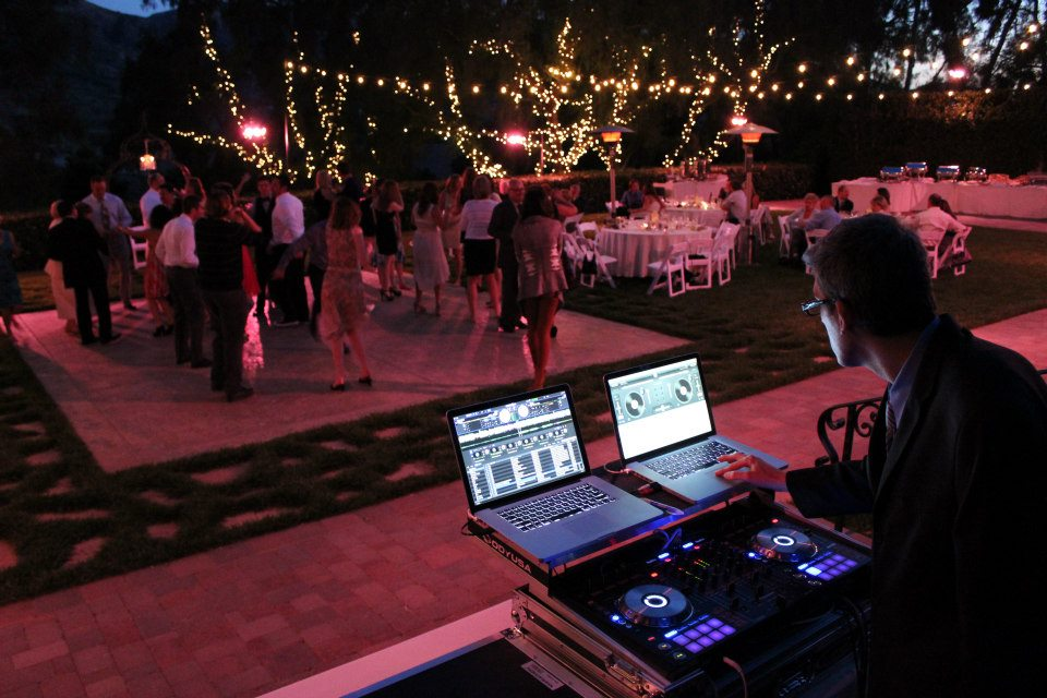 DJ Chris at maravilla Gardens