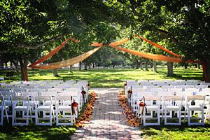 Walnut Grove Wedding Ceremony