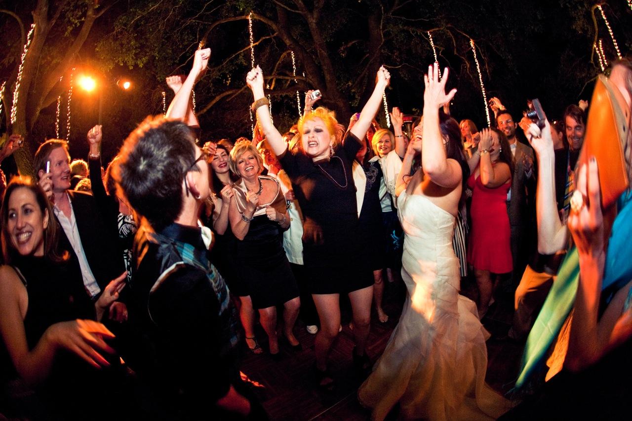 Wedding Event Photography: Wedding Reception Dancing - Los Angeles Wedding DJ